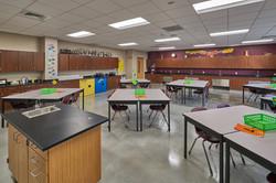 Benton Middle School Classroom