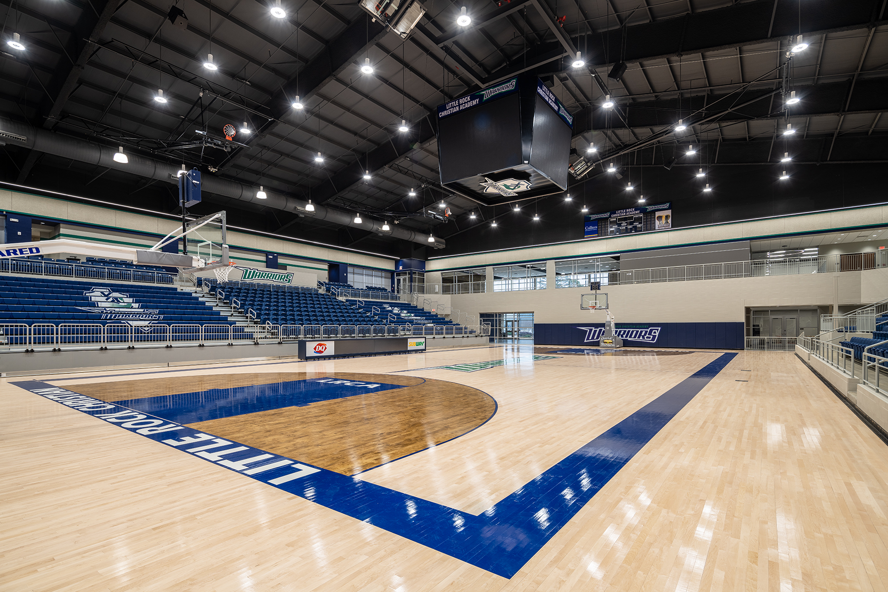 Little Rock Christian Academy Warrior Arena – Gymnasium