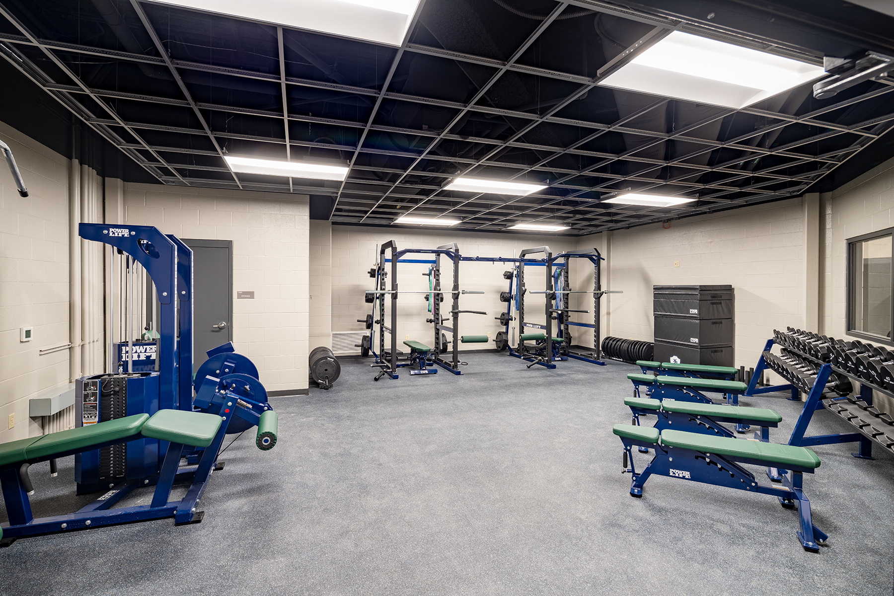 Little Rock Christian Academy Warrior Arena – Weight Room