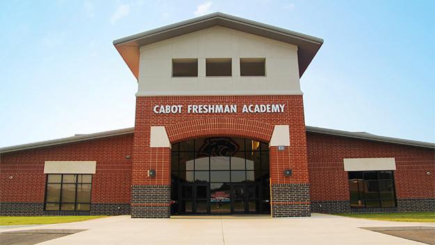 Cabot Freshman Academy – Front Entrance