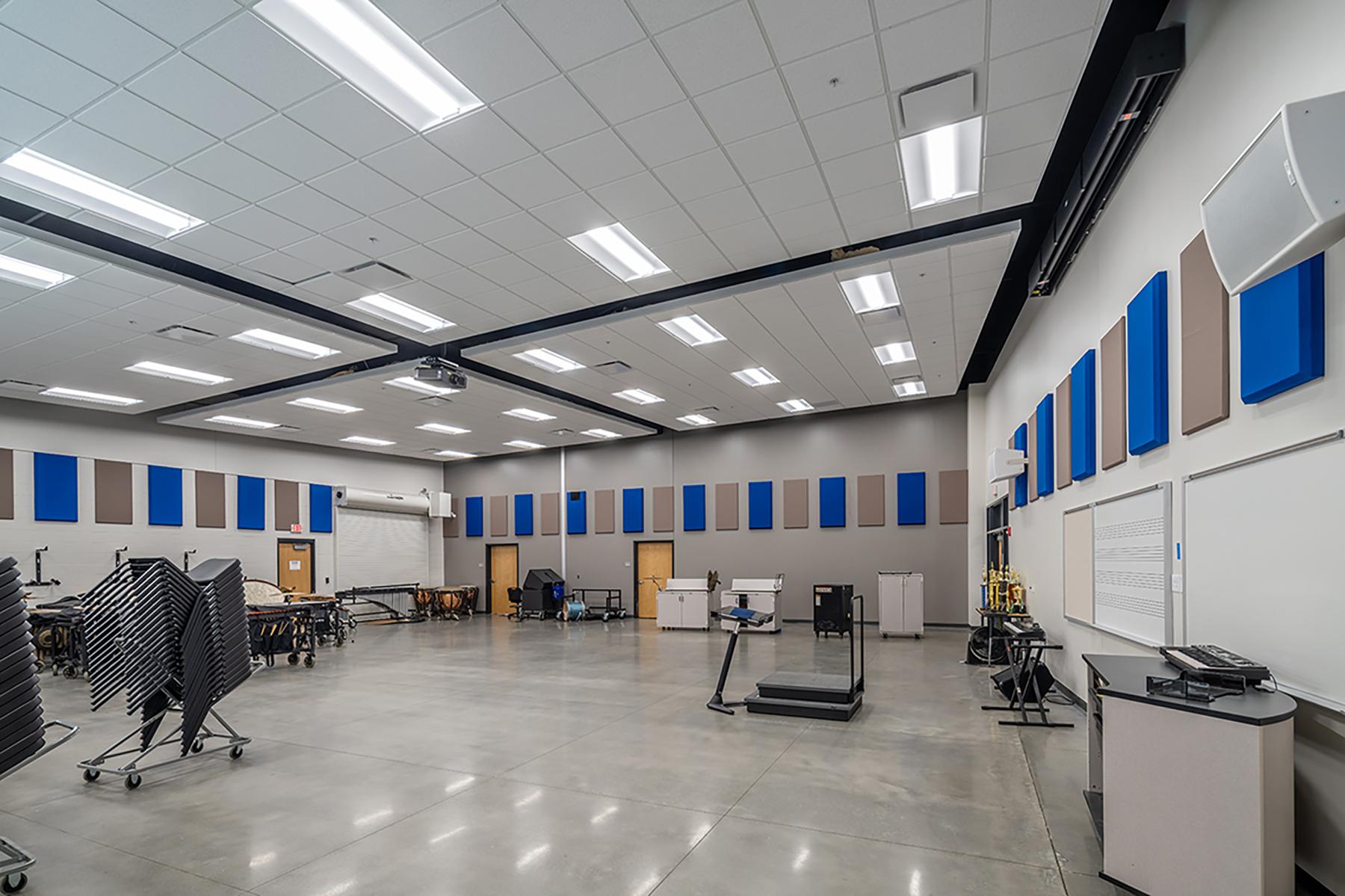 Bryant School District Fine Arts Center – Band Room