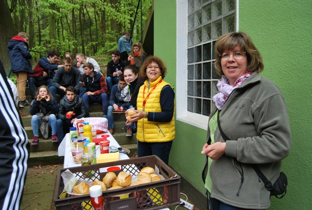 Hot Dog Station im Deister