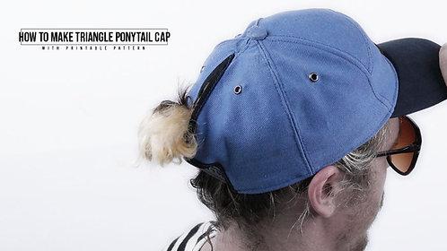 Triangle Ponytail Hat Pattern