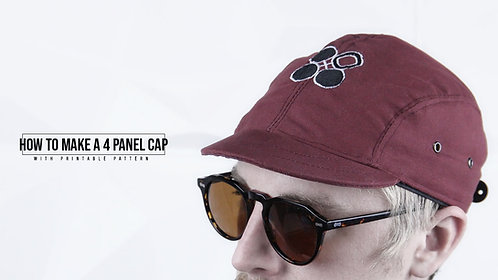 4 Panel Cap Pattern (Download)