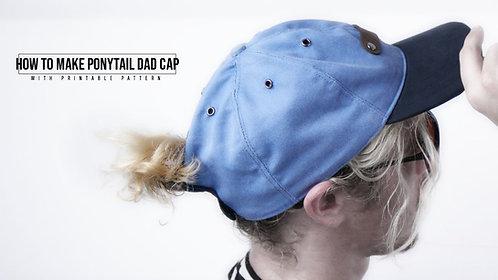 Ponytail Dad Cap Pattern