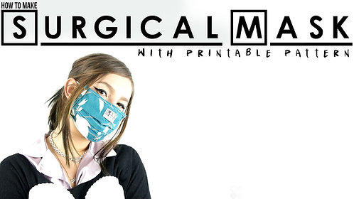 Surgical Face Mask Pattern (Download)