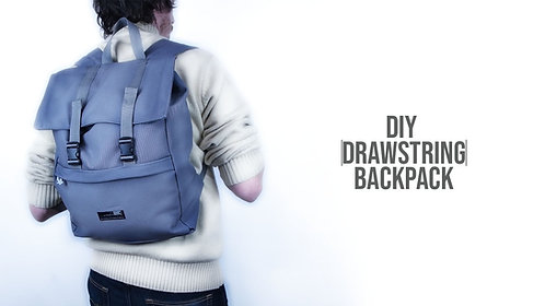Drawstring Backpack Pattern (Download)