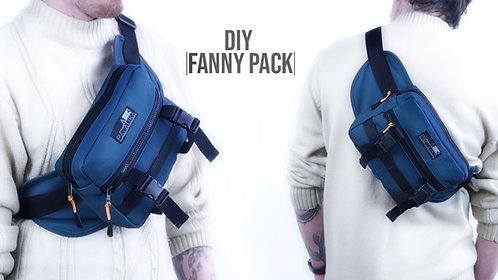 Fanny Pack Utility Bag Pattern (Download)
