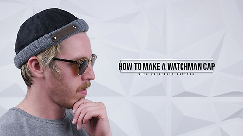 Watchman Cap Pattern (Download)