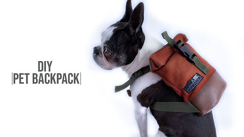 Pet Backpack Pattern (Download)