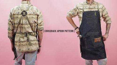 Cross Back Apron Pattern (Download)