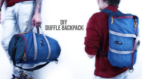 Duffle Bag Backpack Pattern (Download)