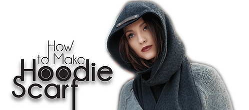 Hoodie Scarf Pattern (Download)
