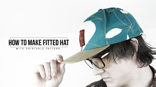 Fitted Cap Pattern