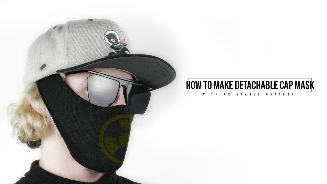 Detachable Cap Rave Mask (Pattern)