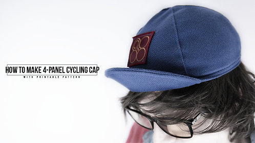 4 Panel Cycling Cap Pattern