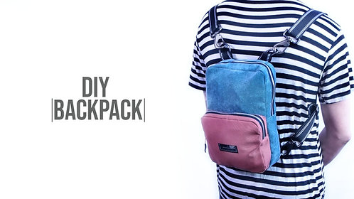 Square Backpack Pattern (Download)