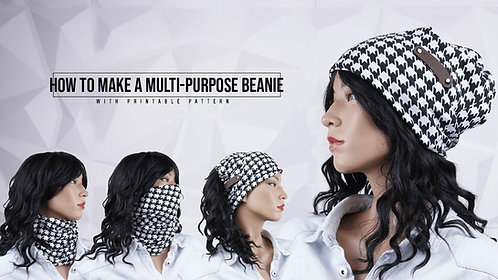 Multi-Purpose Beanie Pattern (Download)