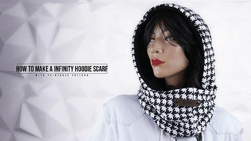 Infinity Hood Scarf Pattern (Download)