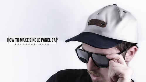Single Panel Cap Pattern (Download)
