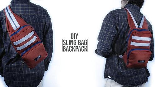 Sling Bag Backpack Pattern (Download)