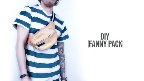 Oval Fanny Pack Pattern (Download)