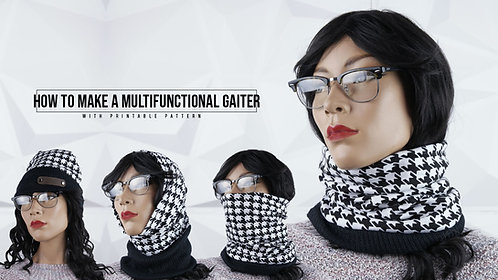 Multi-functional Gaiter Pattern (Download)