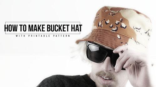 Bucket Hat Pattern (Download)