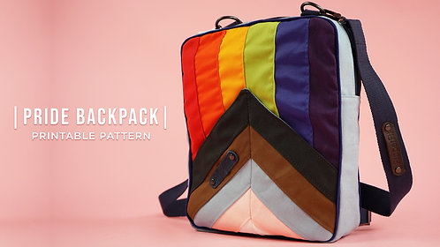 Love for All Pride Backpack Pattern (Download)