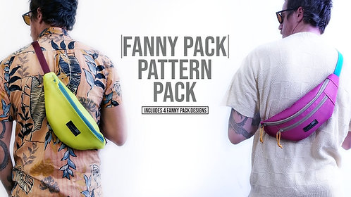 Fanny Pack Pattern Pack (Download)