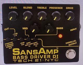 SansAmp Bass Driver Tech 21