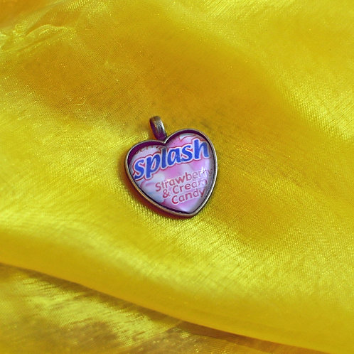 Antique Bronze Heart shaped Necklace - Splash