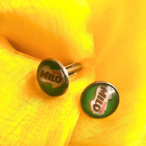 Antique Silver Cufflinks - Milo