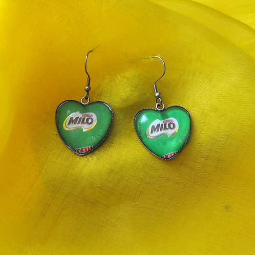 Antique Silver Heart Based - Milo ((LAGOS))