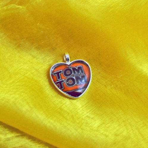 Antique Silver Heart shaped Necklace - TomTom