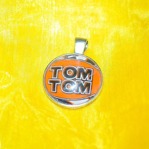 Antique Silver Circle Based Necklace - TomTom