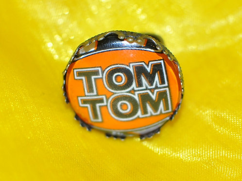 Antique Silver Circle Shape Medium Ring - TomTom