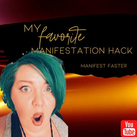 MY FAVORITE MANIFESTATION HACK :: Manifest FASTER