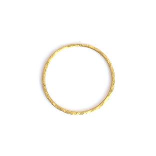 laboratorium milled texture ring gold
