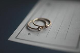 rim setting ring 2mm/3mm 10KYG