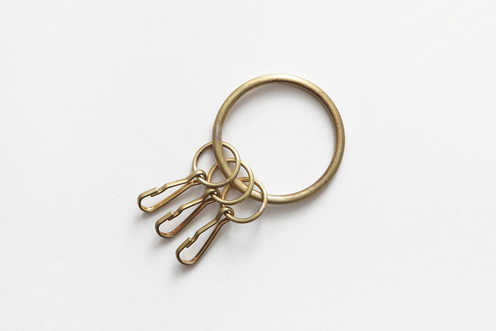 Laboratorium/object orbiculor key ring