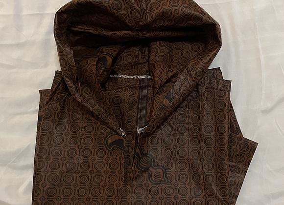 Hooded Short Sleeve Shirt - Hickory