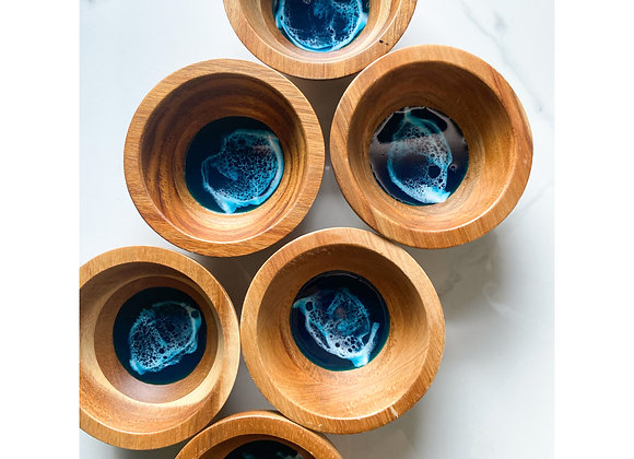 Ocean Wood Bowls