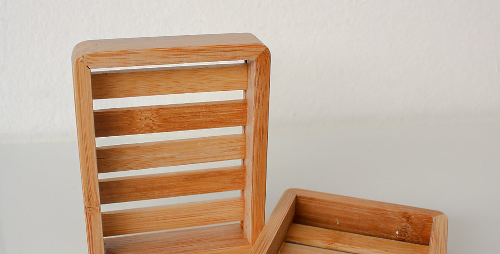 Bamboo soap box