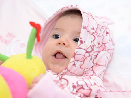 Ensaio de Bebê: Laura