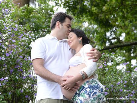 Ensaio de Gestante: Michelle + Rafael = Victoria