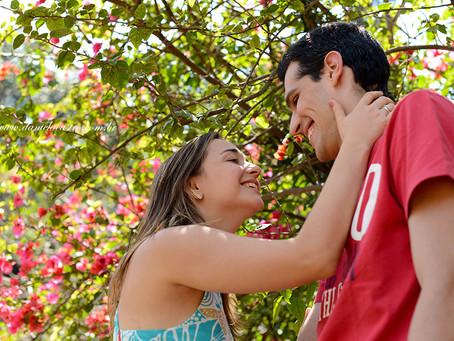 Ensaio de Casal: Gabriela & André