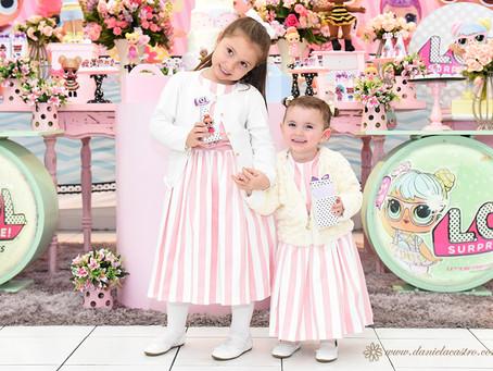 Festa Infantil: Eduarda e Antonella