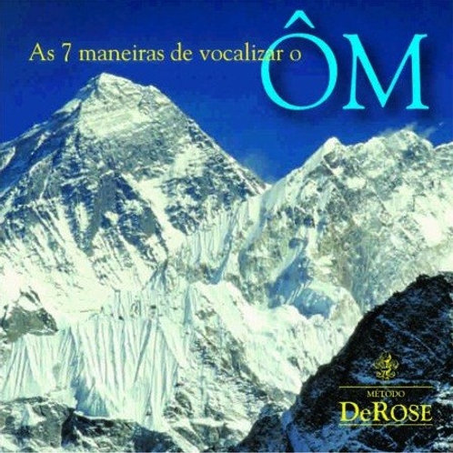 CD - As Sete Maneiras de Vocalizar o ÔM