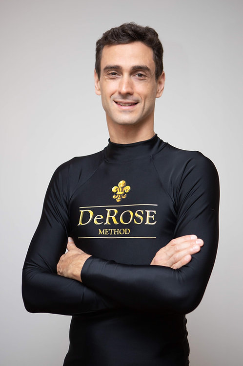 Camiseta de lycra para esportes - DeRose Method